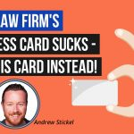 Business Cards for Lawyers Don't Have to Be Boring