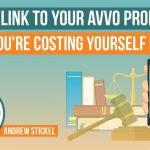 Do You Link to Your Avvo Profile If So, You're Costing Yourself Money…