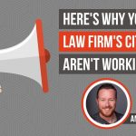 Why The Citations For Your Law Firm Aren't Working