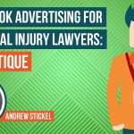 Critiquing An Injury Attorney's Facebook Ad