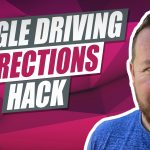 Google Maps Driving Directions Hack