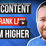 Law Firm Content Strategy That RANKS!