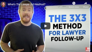 What's The Lawyer 3×3 Method?